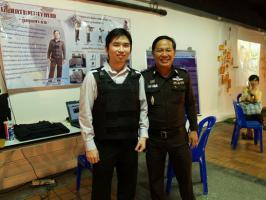 เสื้อเกราะพอเพียงจากฟิล์ม เอกซเรย์ M16 ยิงไม่ทะลุ ฝีมือตำรวจไทย
