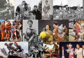 ไม่ธรรมดา การ์ตูน ญี่ปุ่น นักแสดง สัตว์ประหลาด  ไอ้มดแดง ยอดมนุษย์  โบราณ ฮีโร่