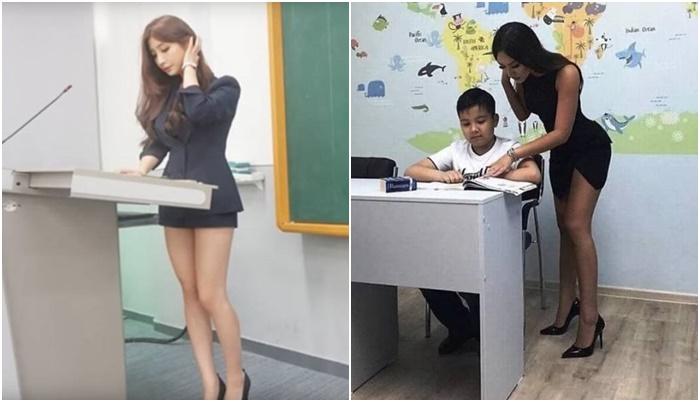 11 ภาพครูสาว ที่เห็นแล้วอยากจะกลับไปเรียนต่อ ฟินมากขอบอก