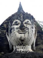 พระอัฏฐารศ วัดมหาธาตุ จ.สุโขทัย พระพุทธรูปต้นแบบของยอดมนุษย์อุลตร้าแมน