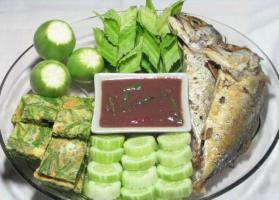 รูปภาพ รวมมิตร น้ำพริก อาหารไทย