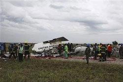 เครื่องบิน ยูเอ็น ตก อุบัติเหตุ