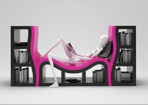 bookshelf 30 of the Most Creative Bookshelves Designs