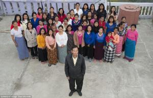 ฮือฮา หนุ่มใหญ่รัฐอินเดียมีเมียมากที่สุดของโลก 39 คน ลูกอีก 94 คน เผย
