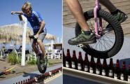 กินเนสบุ๊ค, ขวดเบียร์, จักรยานล้อเดียว