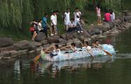 เรือประดิษฐ์ เรือขวดพลาสติก รักษ์โลก จีน