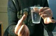 เฉลยมายากลขั้นเทพ V.2  เฉลยมายากลเสกเหรียญเข้าแก้วใส
