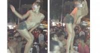 กระเทย เต้น ตุ๊ด สาวประเภทสอง โชว์ นม สงกรานต์ สาดน้ำ
