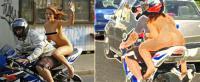 ตำรวจจราจร, สวมหมวก, เปลือย, เมืองคอนแสตนต้า, โรมาเนีย