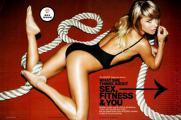 แฟชั่นสุดเซ็กซี่ของซาร่า อันเดอร์วู้ด ใน Men\'s Fitness