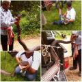 งูจงอางยักษ์ 5 เมตร โผล่กลางสวนยาง-ผ่าท้องพบเขมือบงูเหลือม