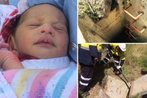 ปาฏิหาริย์ ช่วยชีวิตทารกอายุ 7 วัน ถูกแม่ทิ้งท่อระบายน้ำ (ออสเตรเลีย)