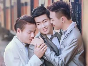 งานแต่งสามเกย์ไทยดังอินเตอร์ สื่อนอกตะลึง ครั้งแรกของโลก !!
